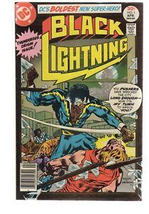 BLACK LIGHTNING 1 1ST APPEARANCE  ( CURRENT TV SERIES  )  DC COMICS BRONZE AGE
