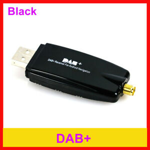 FirstE Dab//Dab Dual USB Chargeur de Voiture+ Micro SD Card+ Ventouse Magn/étique+ 3m Dab Antenna Mains Libres Appel Portable Dab Radio Adaptateur Autoradio 2,3 Grand LCD Bluetooth Transmetteur FM
