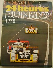 Le Mans 24 Hours 1978 Annual in English high quality book with dust wrapper