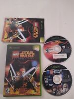 LEGO STAR WARS Lot: 1 The Video Game and 2 Original Trilogy for Original Xbox