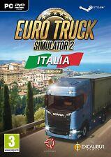 Euro Truck Simulator 2: Italia Add On PC DVD Brand New Sealed Free P&P