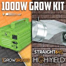 """1000 watt Hps Grow Light Cooltube Cool Tube 6"""" Glass 1K"""
