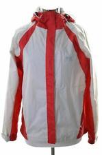Helly Hansen Womens Windbreaker Jacket Medium Beige Nylon Polyester