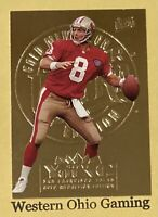 1995 Fleer Ultra Steve Young #310 Gold Medallion