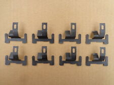 8 NOS LOWER WINDSHIELD MOULDING CLIPS!-FOR CAMARO, NOVA, CHEVELLE, ..ETC 1994FX