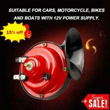 300DB 12V Electric Snail Air Horn Van Train Car Truck Motorcycle Sound P0D1