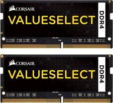 16GB Corsair ValueSelect DDR4 2133MHz CL15 SO-DIMM Laptop Memory Kit (2x 8GB)