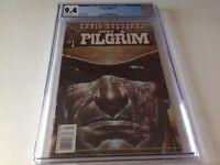 JUST A PILGRIM 1 CGC 9.4 WHITE PAGES GARTH ENNIS MARK TEXEIRA BLACK BULL COMICS