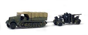 88mm Flak 36 AA/AT w/Sd.Kfz.9 Halftrack Transport 1:72 Solido Diecast Model