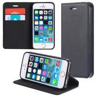 Funda-s Carcasa-s para Apple iPhone SE / 5 5S Libro Wallet Case-s bolsa Cover Ne