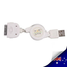 Retractable USB Sync Data Cable Charger For iPod iPhone - NEW (N025)
