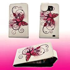 Design 4 Flip Handy Tasche Cover Case Hülle Etui für Samsung i9100 Galaxy S2