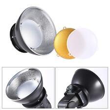 17CM Universal Flash Speedlite Diffuser Beauty Dish Dome for Nikon Canon O2W0