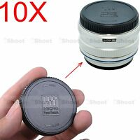 10x Rear Lens Cap Cover f Olympus Micro Four Thirds M.Zuiko Digital 14-150/4-5.6