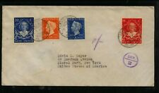 Netherlands  Indies    stamps on cover to  US    KEL043