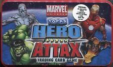 Marvel Hero Attax Series 1 Factory Sealed Tin Set