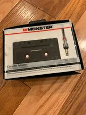 Monster 3.5mm aux to car cassette adapter open box Smartphones Tablets Mp3