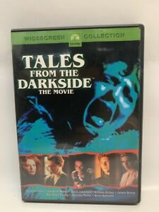 TALES FROM THE DARKSIDE THE MOVIE rare US DVD cult 80s horror movie