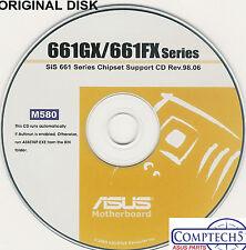 ASUS GENUINE VINTAGE ORIGINAL DISK FOR P4S8X-MX P4S800-MX SE  Disk M580