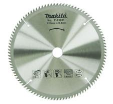 "Makita P-73081 (9""-2.6-100) Circular Saw Blade Cutting 100T kor"