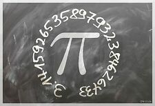 "13""×19"" Inspirational Poster PI Math Science Physics Classroom School. ALGEBRA"