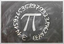 "13""×19"" Inspirational Poster PI Math Science Physics Classroom School. ALGEBRA"