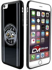 Cell Phone Cases Covers Skin for Apple iPhone 6 plus SUPER BEE Logo Black Gray