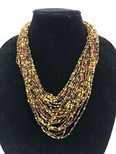 Joan River's 30-strand Beaded Necklace Stunning!