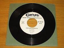 "PROMO R&B/INSTRUMENTAL 45 RPM - JOHN GREER - GROOVE 0119 - ""COME BACK MABELLINE"""