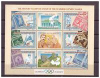 Kirgisien, Vergangene Olympischen Jeux D'Été Minr. 287 - 292 Bloc 32, 2002