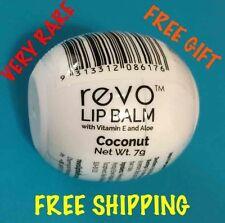 1 Coconut Revo Lip Balm ~ Made In Australia RARE ~ Free Gift