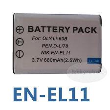 Camera Battery For Pentax D-LI78 Optio S1 L50 L60 M50 M60 V20 W60 W80 Photo K13