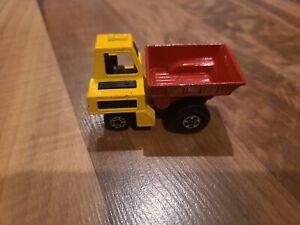 Vintage 1976 Matchbox Lesney Superfast Site Dumper Die Cast Dump Truck # 26