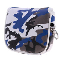 Mallet Putter Head Cover Center Shaft Headcover with Magnetic Closure - Camo