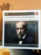 Lorin Maazel Conducts Strauss  5 CD NEW sealed