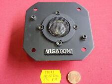 VISATON HC20 TITAN FFL 8 Ohm RARITÄT! 85 x 85mm     mit opt.Fehler!      23572