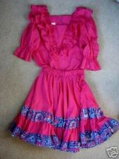 MALCO MODES Square Dance Dress-Blouse & Skirt Set - S / Small