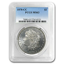 1878-CC Morgan Dollar MS-63 PCGS - SKU #15413