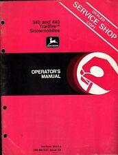 JOHN DEERE 340 & 440 TRAILFIRE  OPERATORS MANUAL (091)