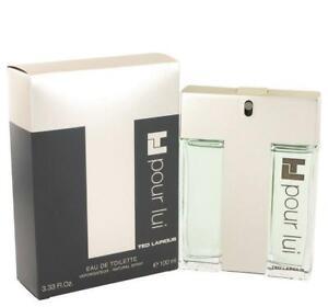 TL POUR LUI Lapidus cologne men edt 3.3 oz 3.4 oz 3.33 NEW IN BOX