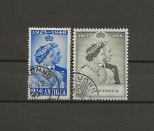 More details for antigua 1949 sg 112/13 rsw used cat £19.75