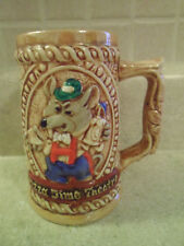 Vintage Chuck E. Cheese Pizza Time Theater Ceramic Mug / Stein