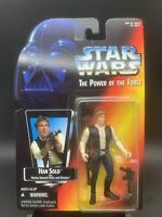 Kenner - Star Wars: Power of the Force - Han Solo w/ Rifle & Blaster - #9540 NIB