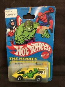 "1977 HOT WHEELS THE HEROES ""THE HULK"" NO.2878 NIC BY MATTEL"