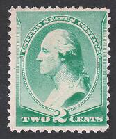 1883 STAMP US SCOTT #213 WASHINGTON 2 CENT MNG
