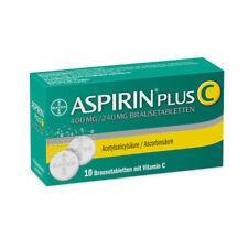 ASPIRIN plus C Brausetabletten 10St PZN 01406632