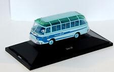 --  SCHUCO  -  SETRA S6 Reisebus  --   26232  -  blau - 1:87  -  Bus - Neu