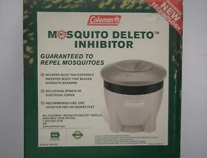 Coleman MOSQUITO DELETO Inhibitor w/1 Refill #2950-603 Insect Repellent - NEW