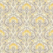 Flora Nouveau Wallpaper By Crown - M1195