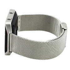 Wristband Strap for Fit Fitbit Blaze Activity Tracker Watch (Silver) W6L2